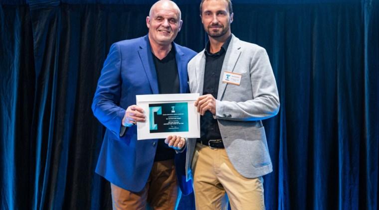 2019 TIDA New Zealand Homes presentation evening award, award ceremony, blue, event, blue