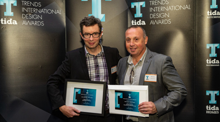 2019 TIDA New Zealand Homes presentation evening electronic device, event, job, media, product, technology, white-collar worker, black