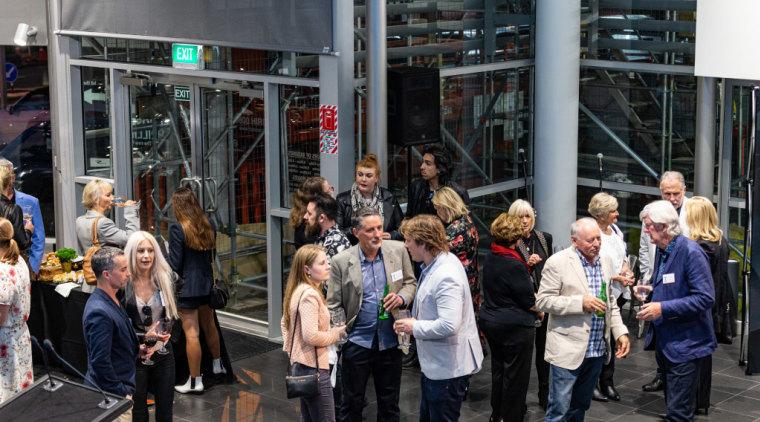 2019 TIDA New Zealand Homes presentation evening architecture, city, crowd, event, metropolitan area, people, tourism, black, gray