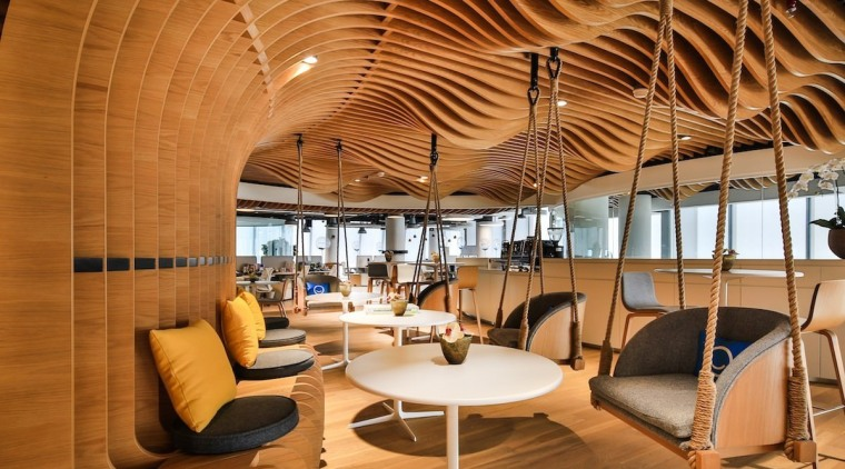 Smart Dubai architecture, ceiling, interior design, lobby, brown, orange