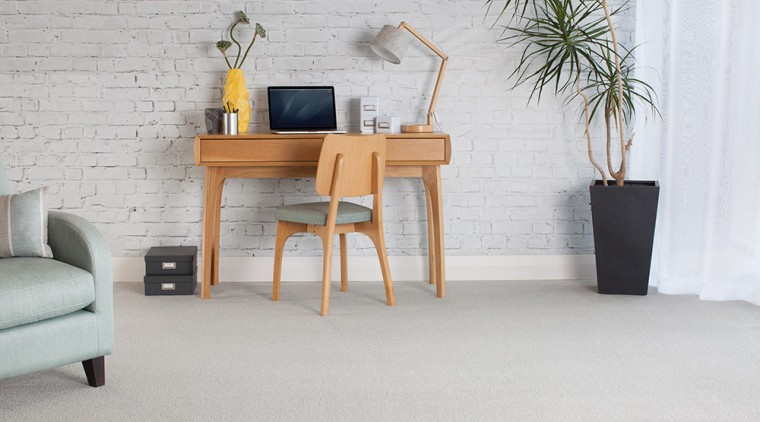 Carpet is one of the most affordable options chair, chest of drawers, coffee table, desk, floor, flooring, furniture, hardwood, home, interior design, table, wall, wood, gray
