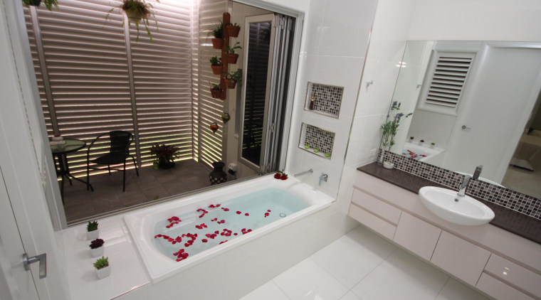 Winner Bathroom Design of the Year 2013 North bathroom, home, interior design, property, room, window, gray