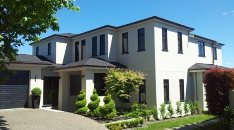 An environmentally friendly building solution, The Graphex System cottage, elevation, estate, facade, home, house, mansion, neighbourhood, property, real estate, residential area, siding, villa, window