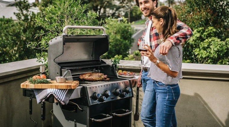 Made in Canada, every Broil King BBQ feature barbecue, barbecue grill, cuisine, food, grilling, kitchen appliance, outdoor grill, black
