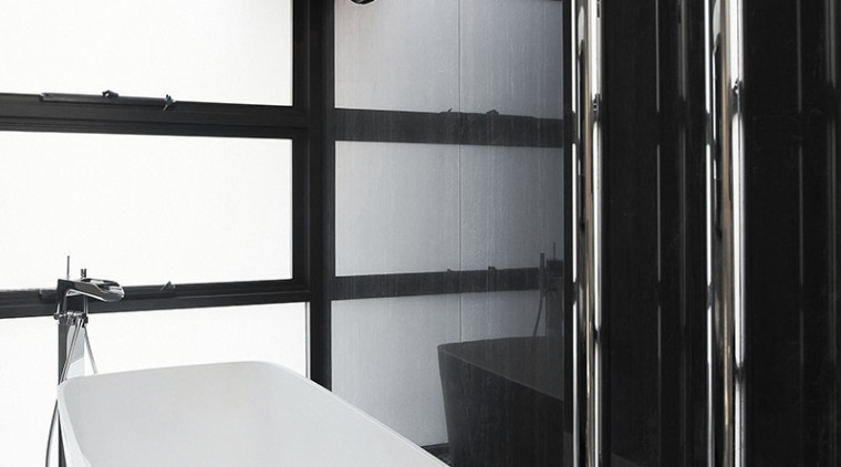 Not tall cabinet handles but rather vertical heated architecture, bathroom, interior design, plumbing fixture, room, black, white, heated towel rails