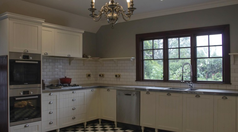 TIDA – Proudly brought to you by Kitchen cabinetry, countertop, cuisine classique, floor, flooring, home, interior design, kitchen, property, real estate, room, window, gray, black