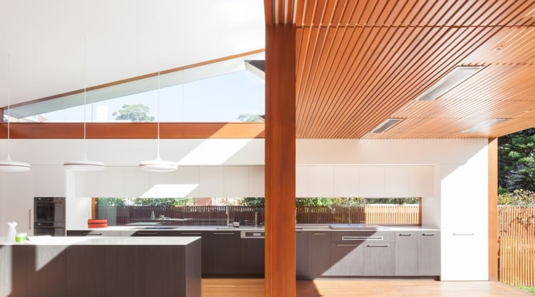 Architect: Day Bukh ArchitectsPhotography by Katherine Lu architecture, ceiling, daylighting, house, interior design, real estate, roof, white
