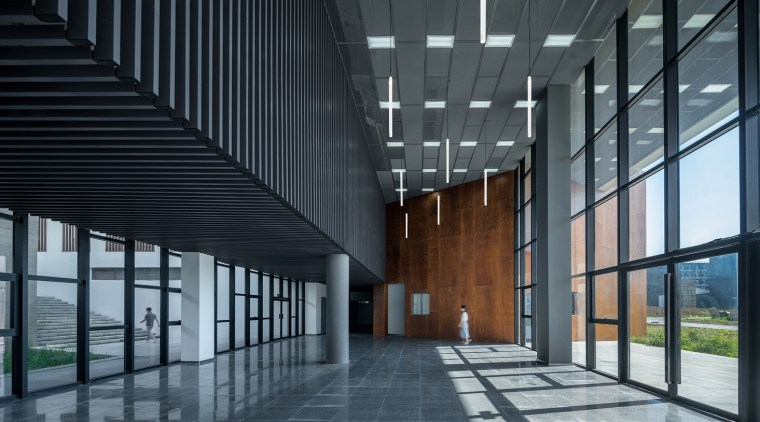 Gallery 11 - architecture | building | daylighting architecture, building, daylighting, facade, glass, headquarters, lobby, structure, gray, black