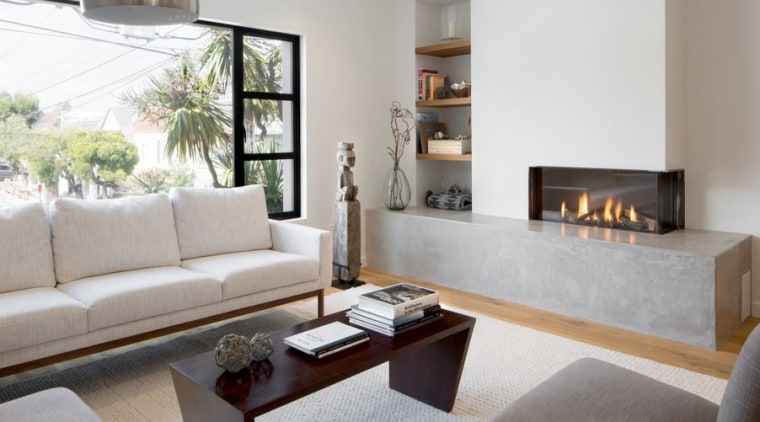Hub Category Heating - coffee table | couch coffee table, couch, fireplace, floor, flooring, furniture, hearth, home, interior design, living room, room, table, gray, white