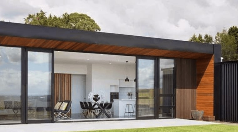 Hub Category Home Builder 2 - architecture | architecture, facade, home, house, property, real estate, window, black, white