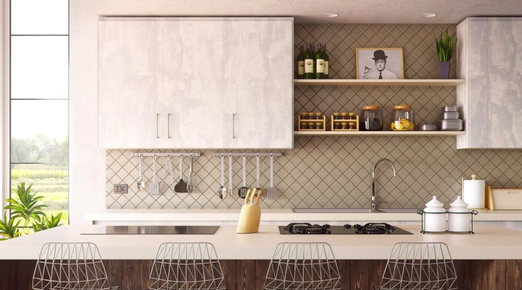 Hub Category Paintwallpaper - cabinetry | countertop | cabinetry, countertop, cuisine classique, floor, flooring, home, interior design, kitchen, wall, white