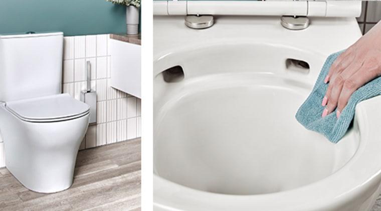 American Standard Cygnet Hygiene Toilet – available at bathroom, bathroom accessory, bathroom sink, bathtub, ceramic, drain, floor, material property, plumbing, plumbing fixture, room, tap, tile, toilet, toilet seat, wall, white