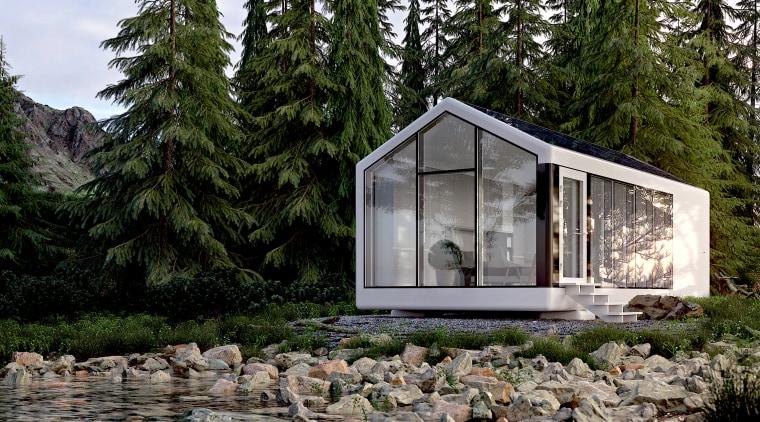 Pulling the plug - architecture | building | architecture, building, cottage, garden buildings, home, house, hut, landscape, log cabin, room, shack, shed, tree, gray, black