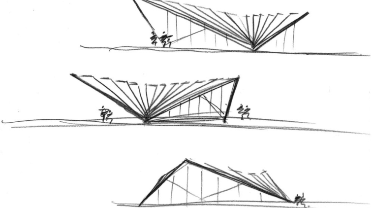 Initial sketches angle, area, artwork, automotive design, black and white, design, diagram, drawing, font, line, line art, sketch, structure, symmetry, triangle, wing, white