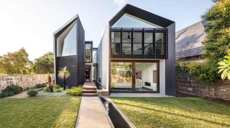 Finalist – CplusC Architectural Workshop – 2018 TIDA architecture, estate, facade, home, house, property, real estate, residential area, white