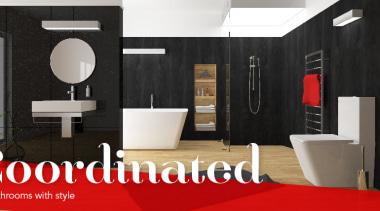 Heirloom International Ltd Header Hero bathroom, floor, flooring, furniture, interior design, product design, room, black