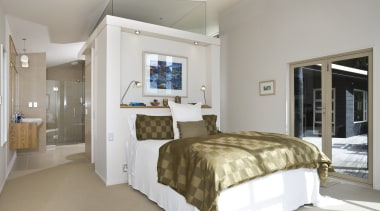 the bedroom features A new dressing room was bedroom, ceiling, estate, home, interior design, real estate, room, suite, gray