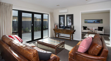 Everything about the Abel Tasmans layout is conducive interior design, living room, property, real estate, room, window, gray