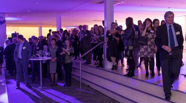 2017 Tida New Zealand Kitchens Event25 crowd, event, public relations, purple, purple