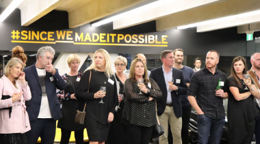 2018 Tida New Zealand Kitchens Awards Event 27 team, black