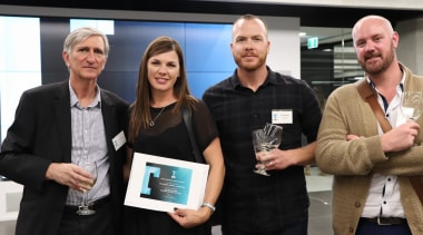 2018 Tida New Zealand Kitchens Awards Event 32 communication, electronic device, technology, black