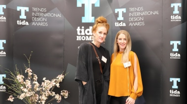 2018 Tida New Zealand Kitchens Awards Event 6 flooring, public relations, socialite, black, gray