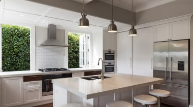 RH Cabinetmakers creates handcrafted, precision kitchen solutions that cabinetry, countertop, cuisine classique, interior design, kitchen, real estate, gray
