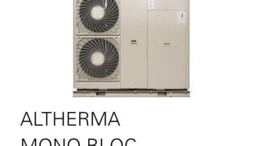 Altherma Mono Bloc product, white