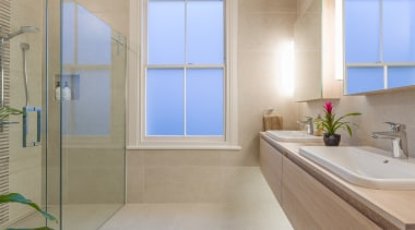 Avery Team Architects – Highly Commended – Tida bathroom, interior design, real estate, room, window, gray
