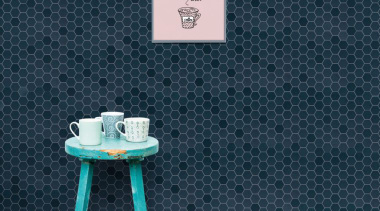 Beton Still Deep Navy Hex Mosaic blue, floor, font, table, turquoise, wall, wallpaper, blue, gray