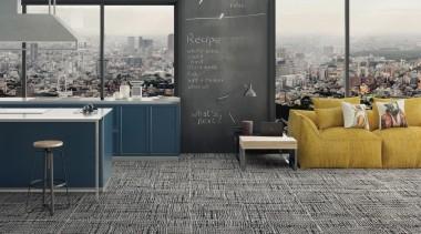 Craft Black White floor, flooring, furniture, interior design, tile, wall, gray, black