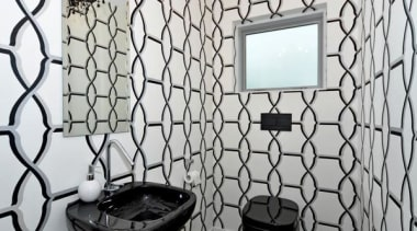 Daring Approach design, glass, interior design, pattern, room, tile, wall, window, gray, white