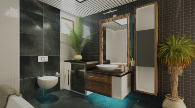 Five Star Bathrooms Header Hero bathroom, interior design, room, black, gray