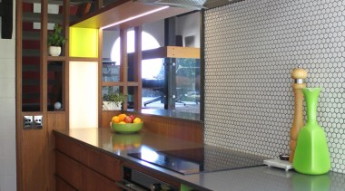 Highly Commended Cummings Studio Architects cabinetry, countertop, interior design, kitchen, brown, gray