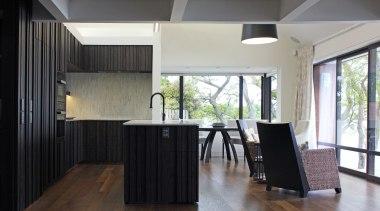 Highly Commended Fraser Cameron Architects Ltd ceiling, floor, flooring, hardwood, house, interior design, laminate flooring, property, real estate, room, window, wood, wood flooring, gray, black