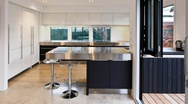 Highly Commended German Kitchens Ltd cabinetry, countertop, cuisine classique, floor, interior design, kitchen, gray