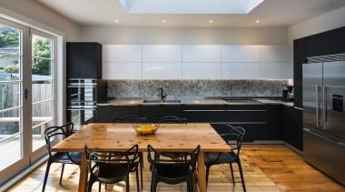 Highly Commended – German Kitchens architecture, countertop, interior design, kitchen, real estate, window, gray