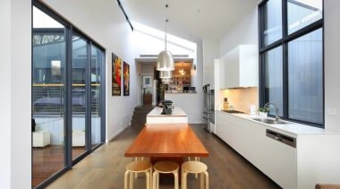 Highly Commended – Ns Studio architecture, ceiling, house, interior design, loft, gray