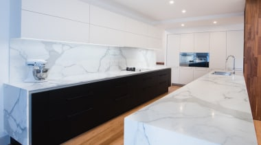 Highly Commended – Pepper Design 1 countertop, floor, interior design, kitchen, property, room, white, gray