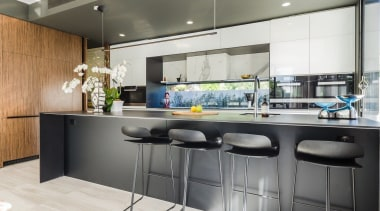 Highly Commended – Pepper Design 2 countertop, interior design, kitchen, gray, white