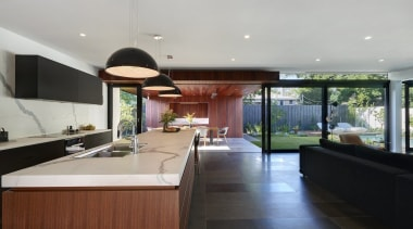 Highly Commended – Urbane Projects architecture, countertop, estate, house, interior design, kitchen, property, real estate, window, gray