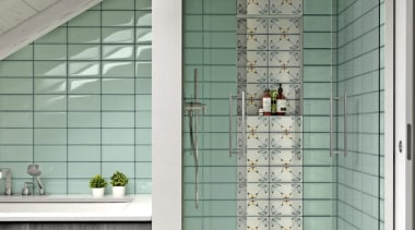 Lol Aquamarine architecture, door, floor, glass, home, interior design, tile, wall, window, window covering, gray