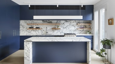 Mcmahon And Nerlich – Highly Commended – 2018 countertop, floor, furniture, interior design, kitchen, gray