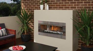 Outdoor Gas Fires 2 fireplace, hearth, heat, brown, gray