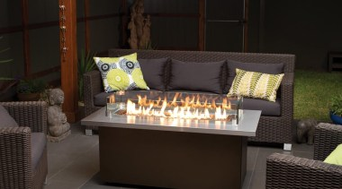 Outdoor Gas Fires 6 furniture, home, table, black