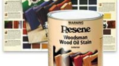 Resene Woodsman Exterior Wood Stains product, white