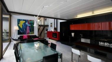 Shortlisted Entry Leuschke Group interior design, lobby, loft, property, real estate, gray, black