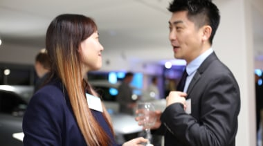 Solidtops Ltd Priscilla Yao And Peter Zheng business, businessperson, event, formal wear, suit, gray, black