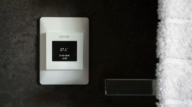 Thermostats electronic device, electronics, product, technology, black
