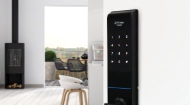 Transform Your Front Door With A Schlage S electronics, hardware, multimedia, product, white